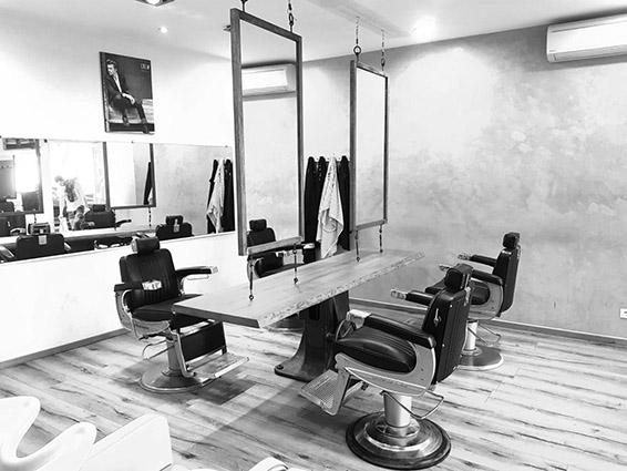 Coiffeur Homme Barbier Barber shop Sala